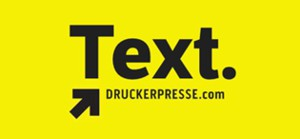 text druckerpresse